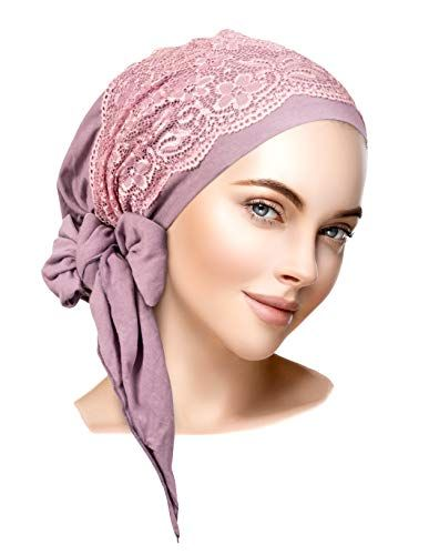 f08adad620a2db New Boho Chic Artisan Head-Scarf Tichel Embellished with Wide Floral Lace. Women  Hats [$21.99 - 34.00]offerdressforyou