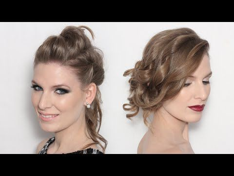 TWO LOOKS #1 | New year's Eve Party MakeUp & Hair Tutorial - Maquillaje para nochevieja - YouTube