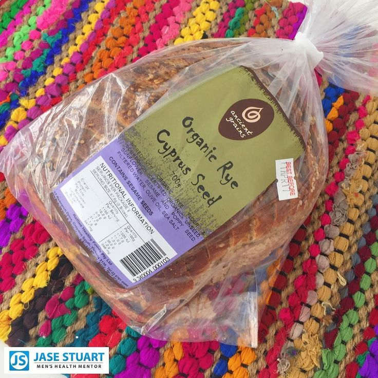 """WHEN THIS IS AVAILABLE WHY WOULD YOU EAT WHITE?  Breads have been demonised as bad and """"avoid at all cost"""" in dieting circles... it really doesn't have to be that way  When it comes to choosing carb foods there's a simple general rule - GO FOR THE MOST UN"""