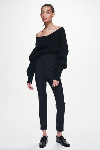 Ji Oh I Off Shoulder Ribbed Sweater | Shop | jioh