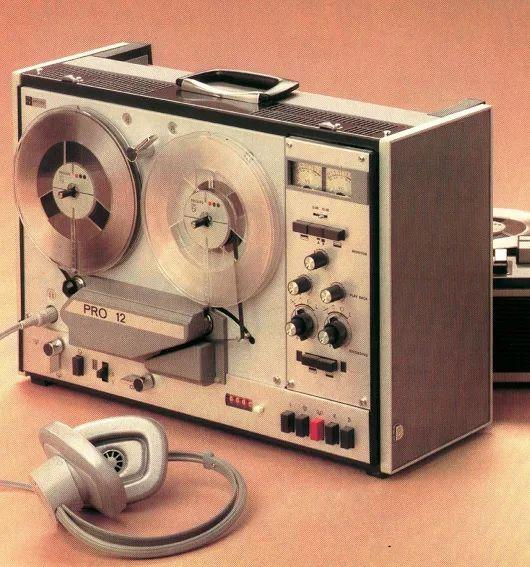 Professional Audio PHILIPS PRO 12 (1970) www.1001hifi.com