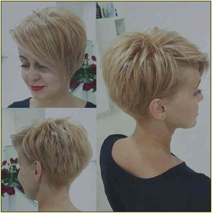 Frisuren Ab 50 Vorher Nachher Beispiel Modell Frisur Damen Kurz Feines Haar Draw…