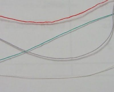 Threads, needles, bobbins and tension - Part 1