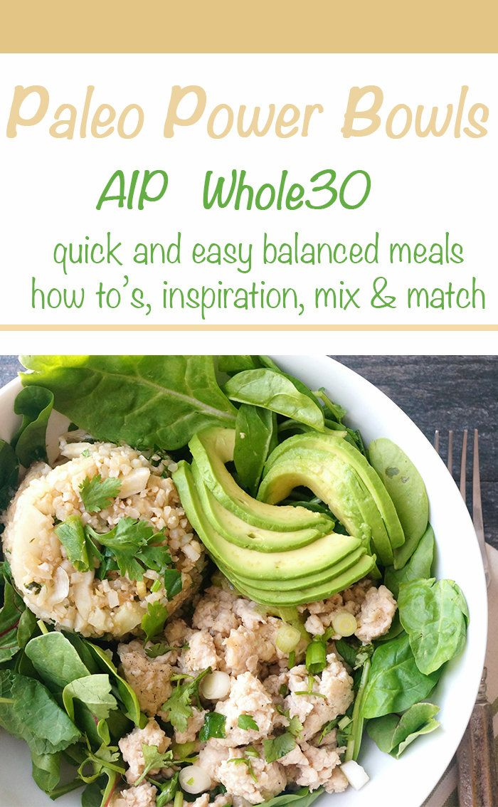 Paleo Power Bowls 101 [Paleo/AIP/Whole30]                                                                                                                                                                                 More