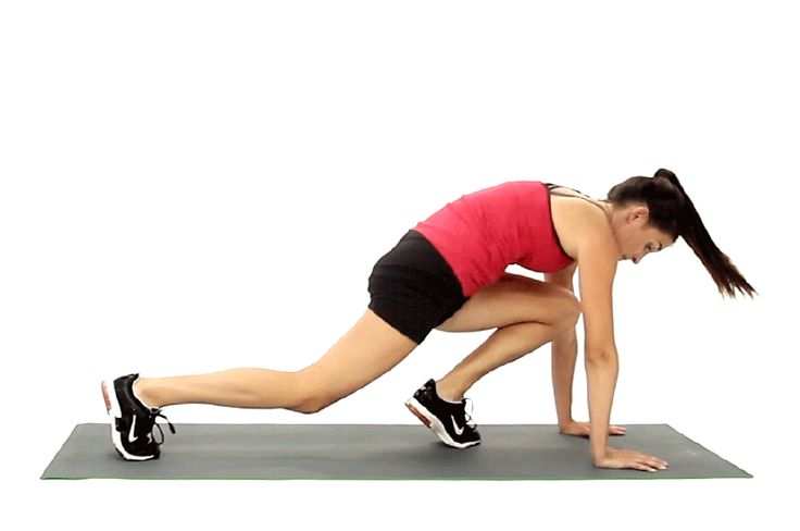 Mountain climbers are calisthenic exercises that challenge your balance, agility, proprioception and coordination. They benefit muscular and cardiovascular fitness by increasing strength, flexibility and blood circulation. Mountain climbers require you to engage your upper arms muscles, as well as your core and your legs. Practice the proper... #cardioforbeginnersstrength