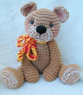 Teddy Bear for Hugs Crochet Pattern
