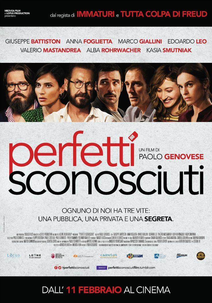 Perfetti sconosciuti, scheda del film di Paolo Genovese con Kasia Smutniak, Marco Giallini e Valerio Mastandrea, leggi la trama e la recensione, guarda il trailer, trova cinema.