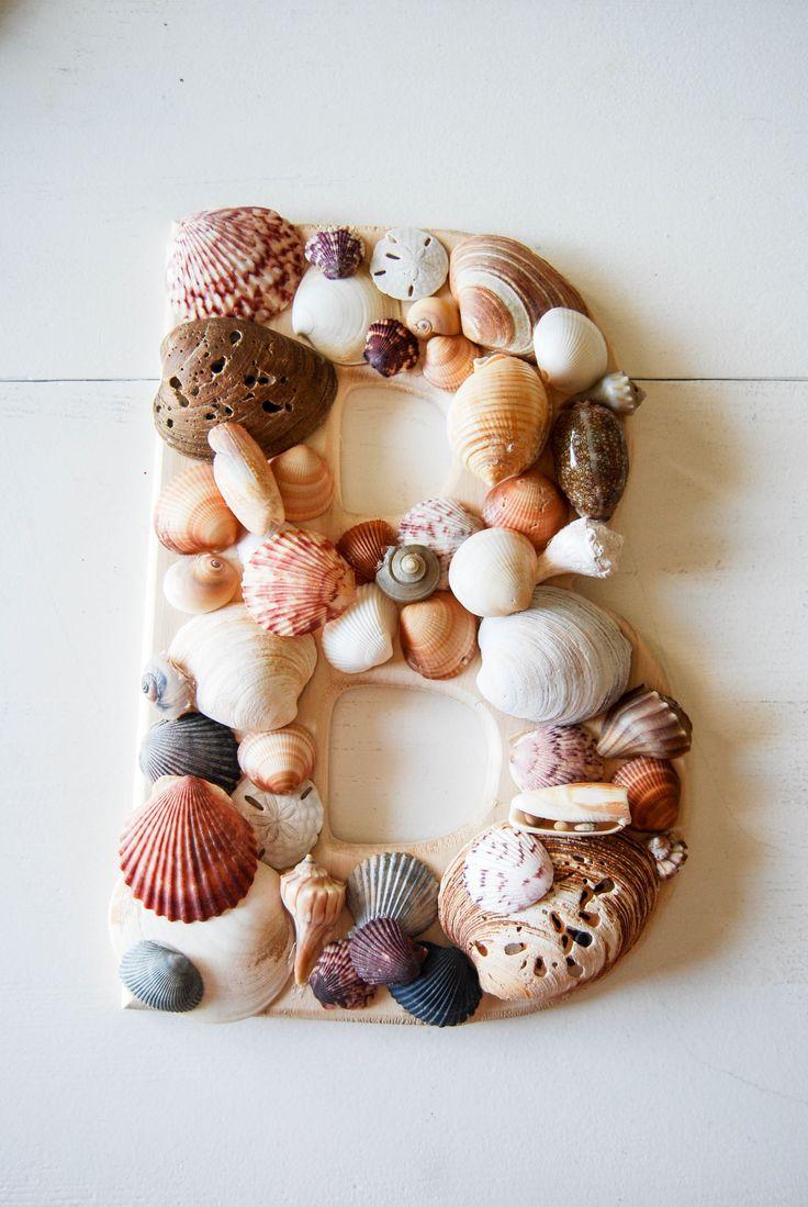 DIY Friday Seashell Letter 56 best Monogram