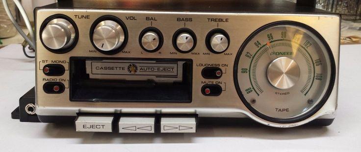 Pioneer KP 500 Am FM Stereo Cassette Player Super Tuner
