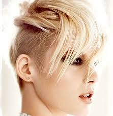 Image result for short shaved hairstyles