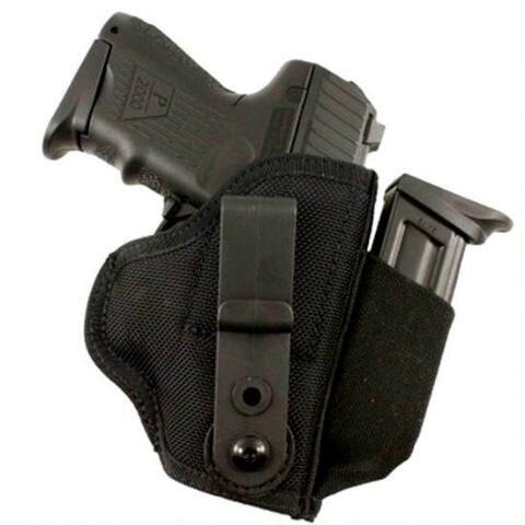 DeSantis Gunhide Tuck-This II SIG Sauer P238, S&W Bodyguard 380, Ruger LCP Tuckable Inside the Waistband Holster Ambidextrous Nylon Black M24BJI5Z0 - 792695317692