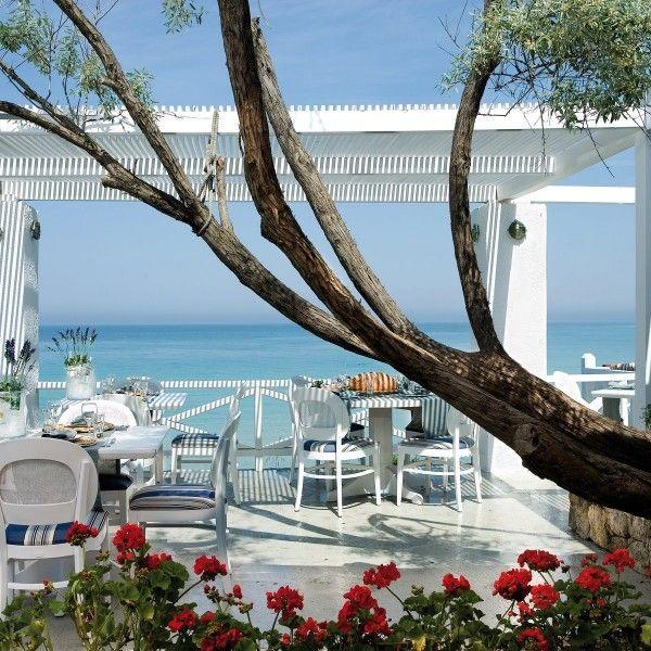 Ouzerie Restaurant at Sani Beach Club, Sani Resort, Greece