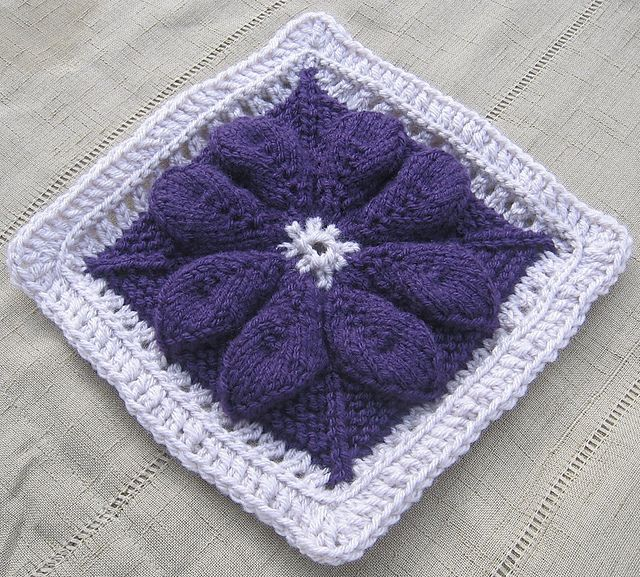 30 Best Knitting Motifs Squares Etc Images On Pinterest