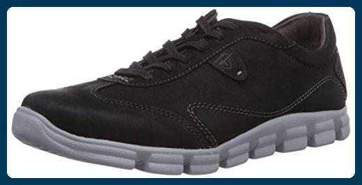 Tamaris 23702, Damen Sneakers, Schwarz (Black 001), 36 EU (3.5 Damen UK) - Sneakers für frauen (*Partner-Link)