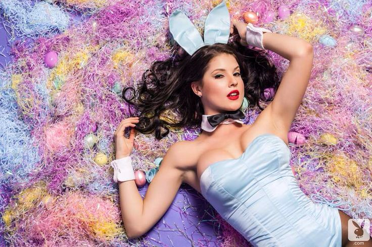 One of the best bunny spreads I've ever seen. Amanda Cerny rocks the bunny uniform like very few can. Amazing.