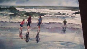 Enjoy Seascape Painting | www.drawing-made-easy.com | #seascape #painting