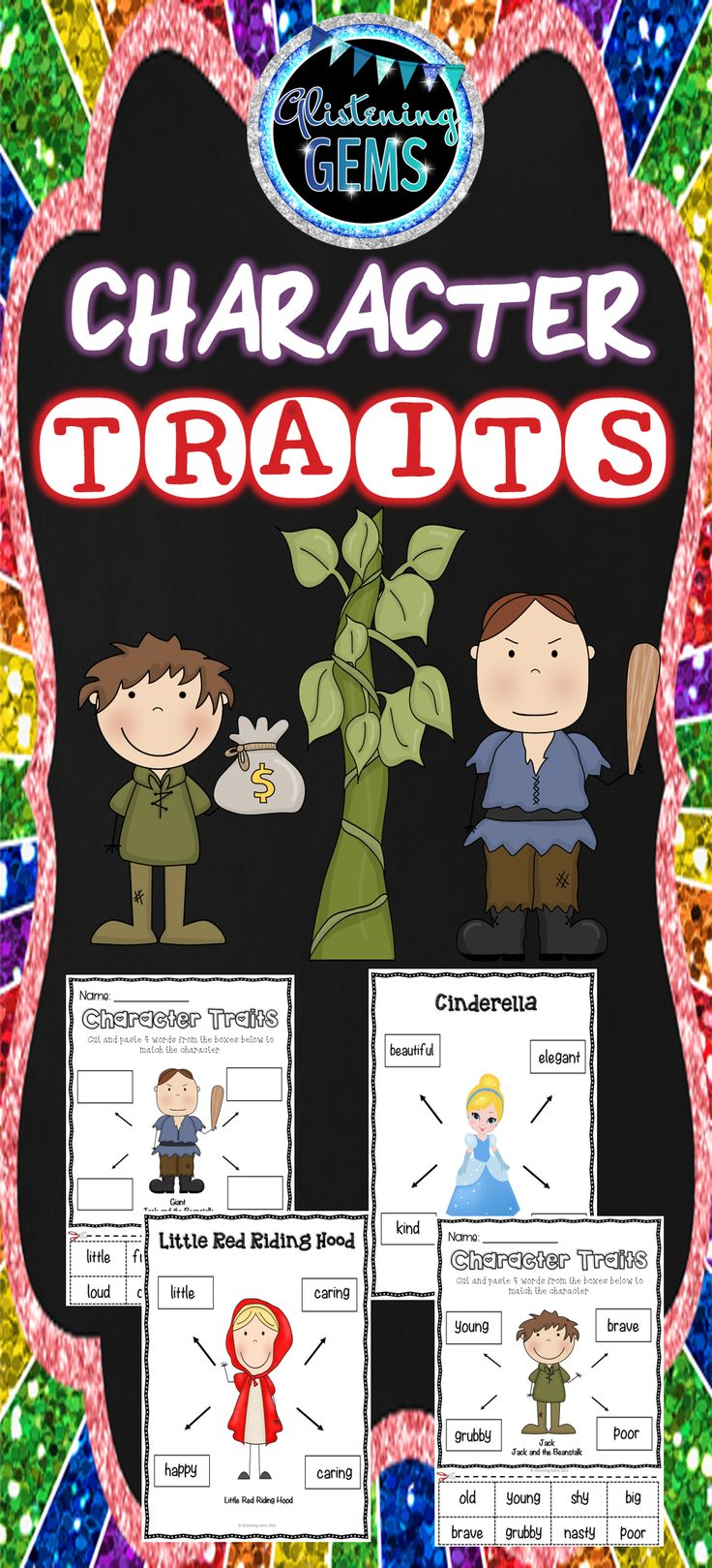 Character Traits - Fairy Tale Theme