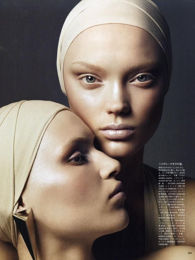 Vogue Japan - Naty and Valeria for Vogue Japan May 09