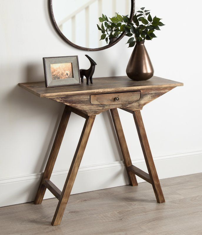 Pringle Chic Small Wooden Console Table Wooden Console Table
