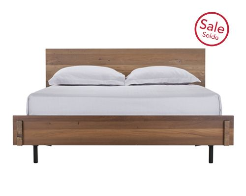 Reclaimed teak bed only ships in canada post remodel house pinterest canada cas and teak - Characteristics of contemporary platform beds ...