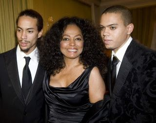 Diana+Ross+Husband | diana ross and sons ross arne naess and evan ross naess