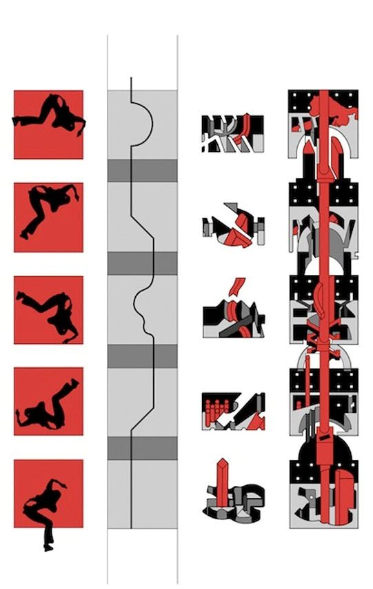 Bernard Tschumi - The Manhattan Transcripts, 1976-81