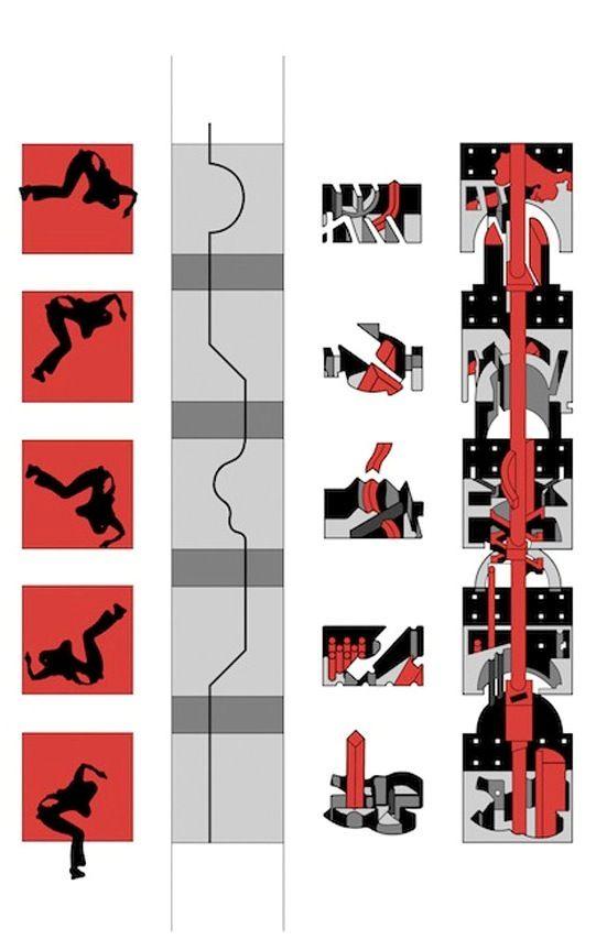 Bernard Tschumi - The Manhattan Transcripts, 1976-81