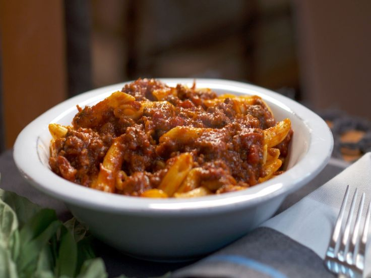 Get this all-star, easy-to-follow Penne with Meaty Ragu recipe from Nancy Fuller
