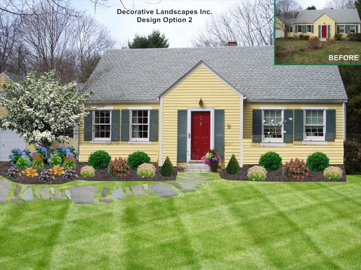 Superb Landscape Ideas For Small Front Yard Front Yard Landscape Design Ideas Ma  Landscape Makeover Landscape Ideas For Small Front Yard Front Yard.