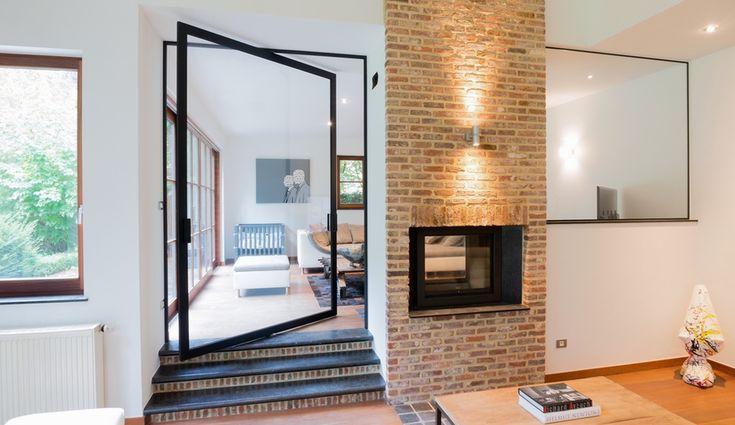 Anyway Doors: Pivoting Room Divider, by Koen Dries and Rudi Dries, with Marieke Cools