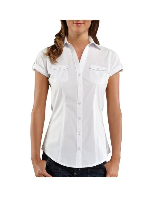 Women 39 S Short Sleeve Camp Shirt For My Body Pinterest