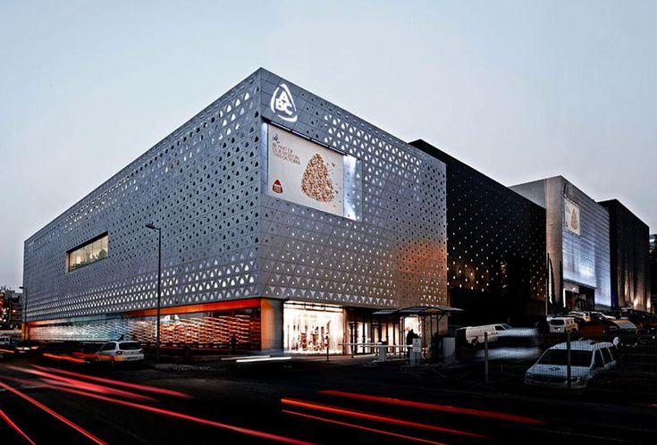 nARCHITECTS: ABC Dbayeh Mall Façade in Beirut, Lebanon