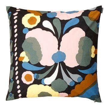 Marimekko's Tuppura cushion cover, peach - grey