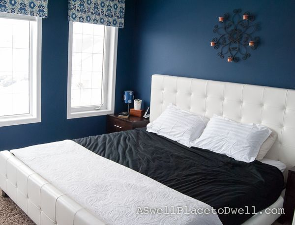 Behr December Eve Master Bedroom Makeover Master