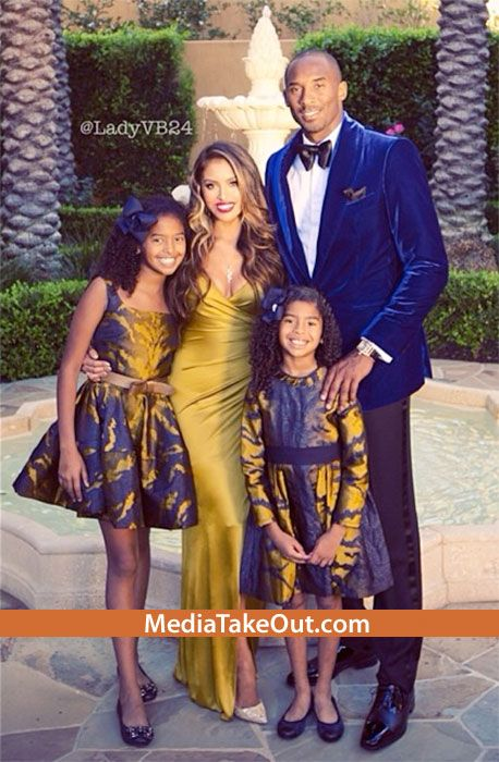 Check Out KOBE AND FAMILY On Their Christmas Card . . . His Daughter Are Growing Into Some REAL BEAUTIES!!! - MediaTakeOut.com™ 2013