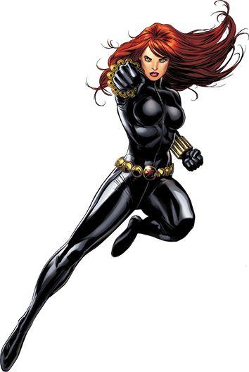 Black widow marvel - photo#15