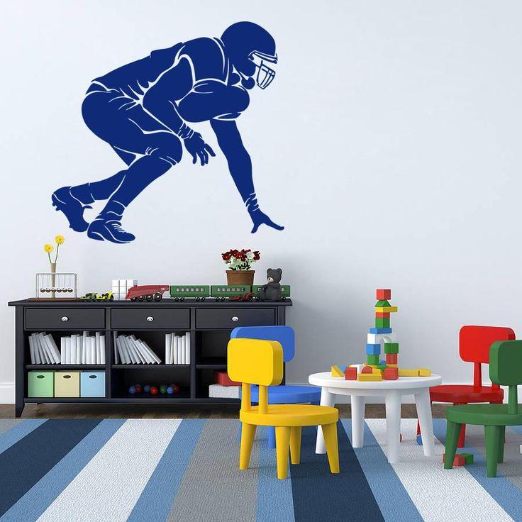 Childrens Football Bedroom Ideas: 25+ Best Football Bedroom Ideas On Pinterest
