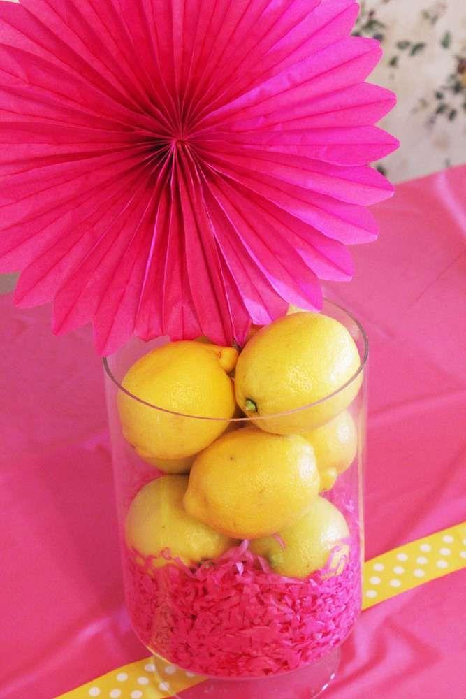 Pink lemonade birthday party ideas first birthdays