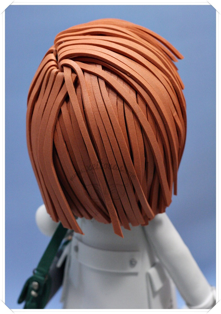 Peinado liso para fofucha  www.xeitosas.com