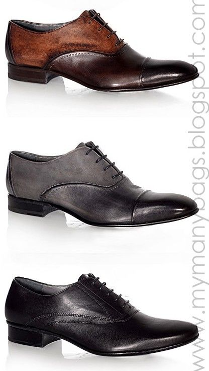 There are so many varieties of shoes men can wear in the business environment.  Just make sure they are shined. #shoeshine