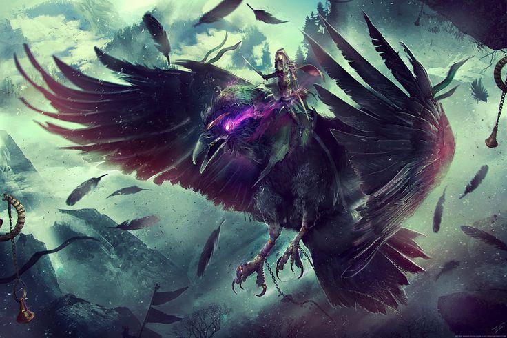 ROGUE CLASS MOUNT - World of Warcraft by Eddy-Shinjuku.deviantart.com on @DeviantArt