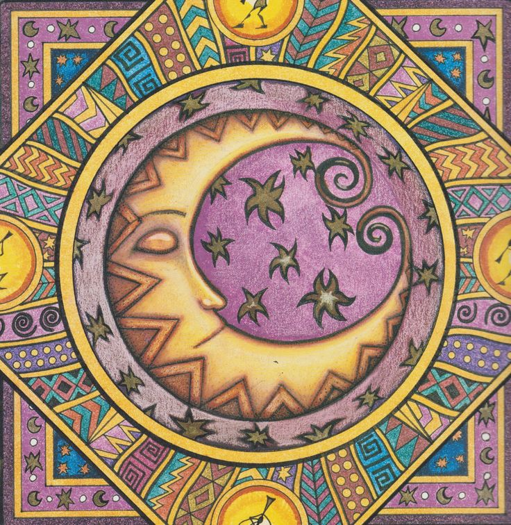 Sun and Moon September 2001 Dan morris, Morris, Moon