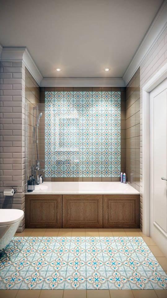 14 best salle de bain images on Pinterest Bathroom ideas, Murals
