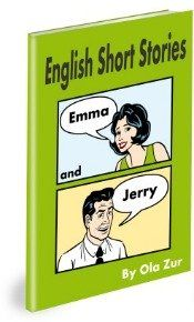 English short stories book and workbook for ESL / EFL students