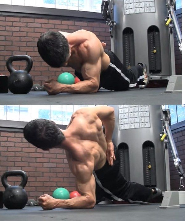 Bodyweight side lateral - bodyweight workout for the shoulders @bbadvisor