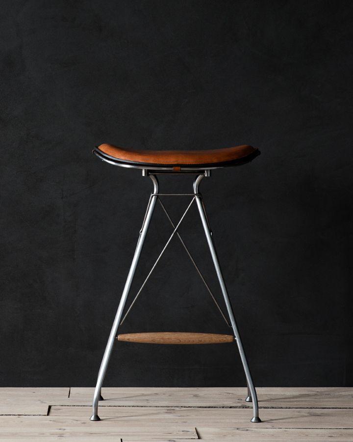 Wire Bar Stool is a minimalist design created by Denmark-based designer Overgaard & Dyrman