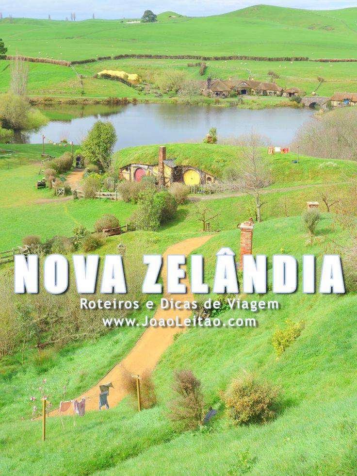 Visitar Nova Zelândia: roteiros, guia de melhores destinos para viajar, fotos, transportes, alojamento, restaurantes, dicas de viagem e mapas.