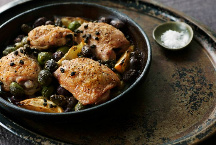 Chicken with Olives & Capers   Recipe