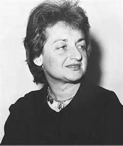 Betty Friedan - her 1963 book The Feminine Mystique is often credited with sparking the second wave of American feminism in the 20th century