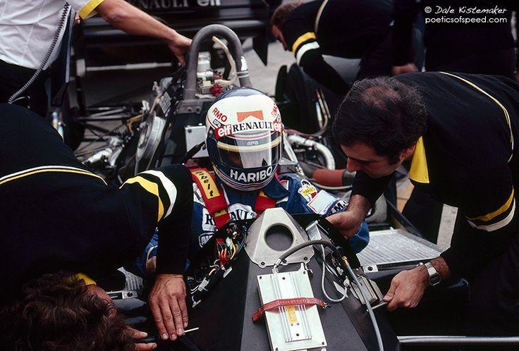 Alain Prost, Renault f1 RE40 Turbo, 1983